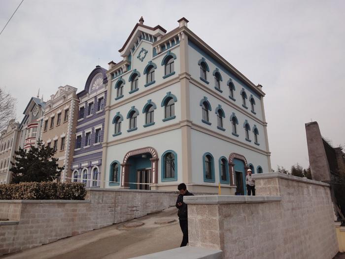 泰安方特GRC外墙实地工程