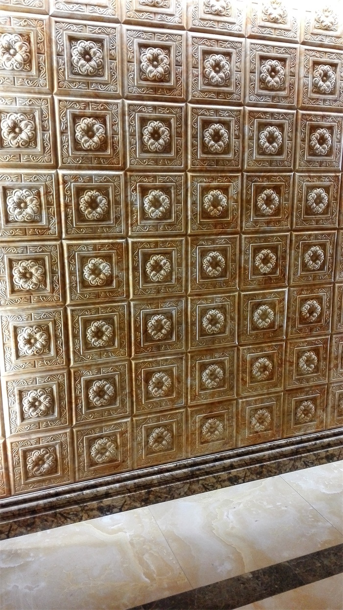 GRC仿大理石浮雕板装饰效果