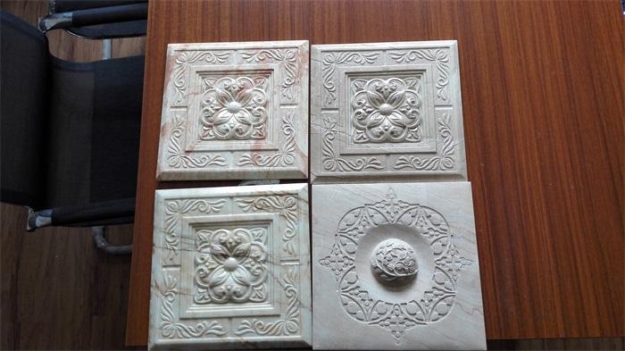 GRC仿大理石浮雕板